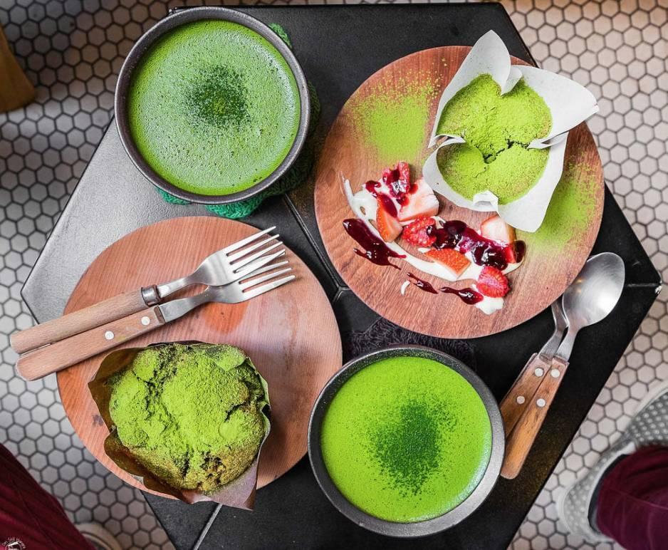 盘点悉尼必去的6家抹茶餐厅,抹茶鸡尾酒、抹茶千层、抹茶熔岩,让春天多一抹绿!