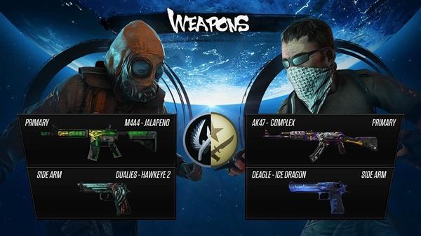 假如《CS:GO》做成格斗游戏