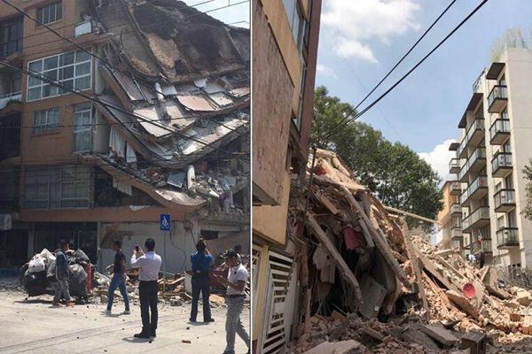 墨西哥发生7.1级地震 已造成139人死亡