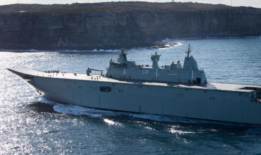 澳大利亚海军精锐尽出来南海 吓唬人还是争宠?