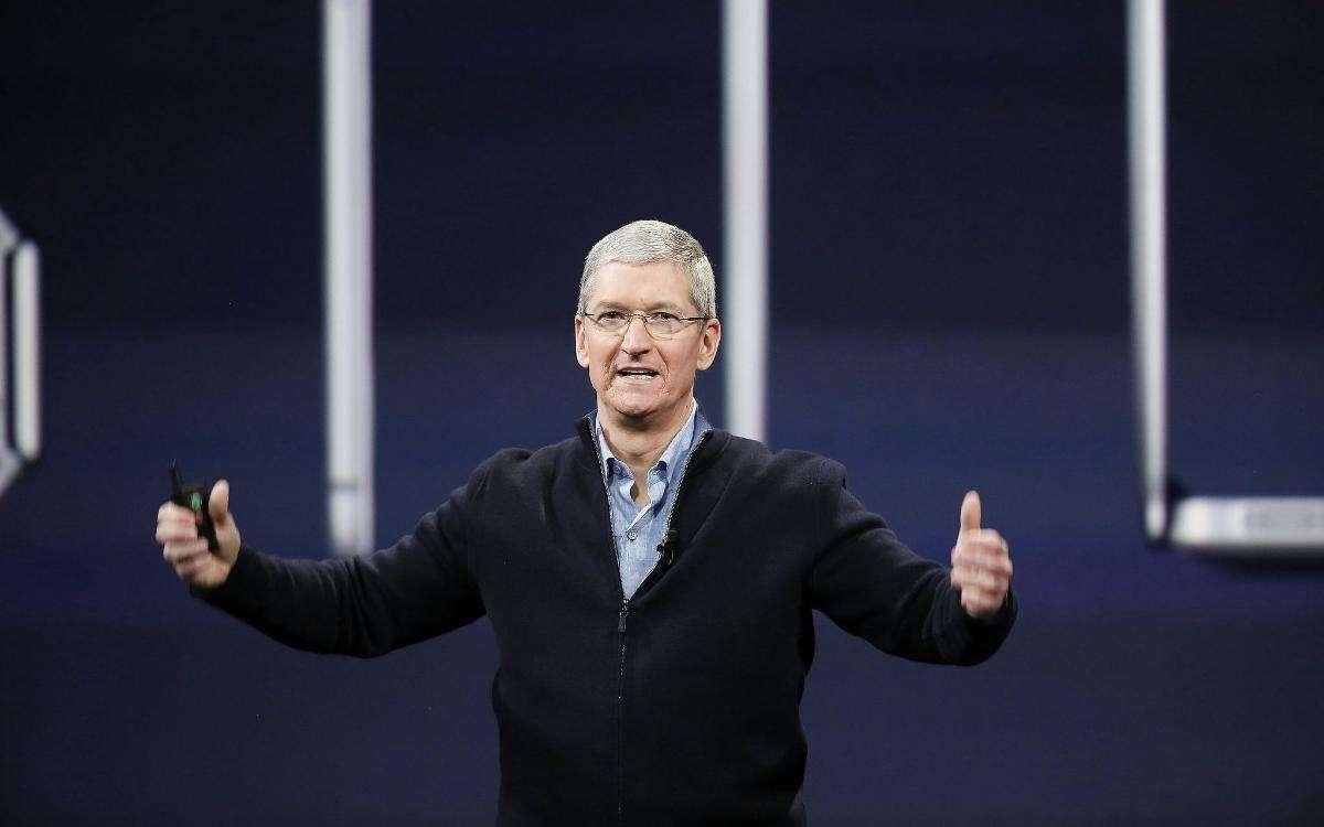 """库克谈近万元的iPhone X为何""""物有所值"""""""