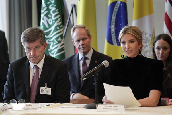 特朗普女儿伊万卡出席联合国大会 优雅干练吸引眼球