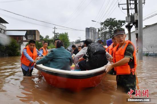 重庆部分地区出现大到暴雨 致2.6万人受灾1人失踪