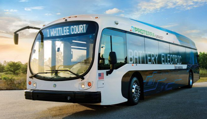 Proterra电动巴士续航新纪录 一次充电行驶1772公里