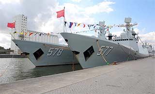 护航编队结束访问比利时再启航