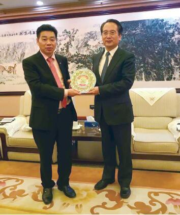 全德华人社团联合会拜访国侨办等部门