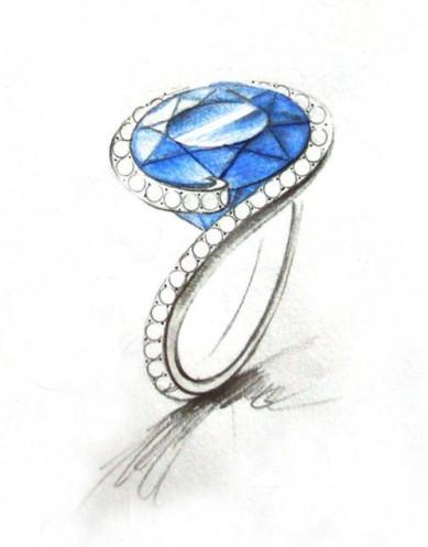 具体作品要求:   一,珠宝设计稿要求:手绘图/jcad,rhino建模任选其一