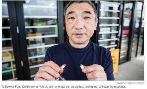 外媒:一年被抢4次 新西兰华人店主只好做了个决定