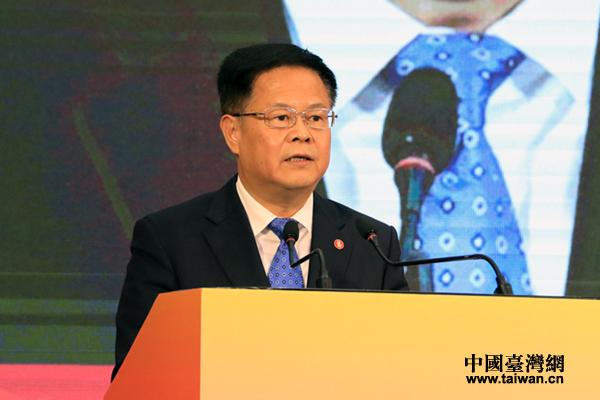 国台办副主任郑栅洁在2017浙江台湾合作周开幕式上的致辞(全文)