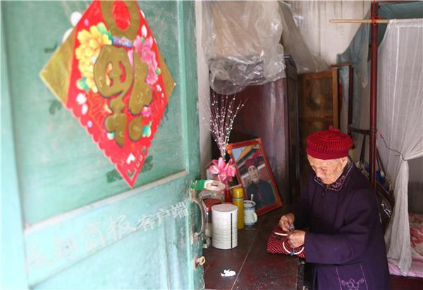 """成都最长寿老人将迎117岁生日:她的长寿秘诀是""""心态好"""""""