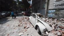 墨西哥再遭强震死伤数百 32年噩梦轮回!