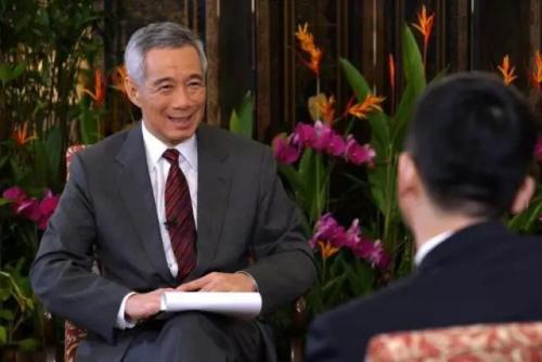 媒体:时隔近4年李显龙突访华,背后有什么故事?