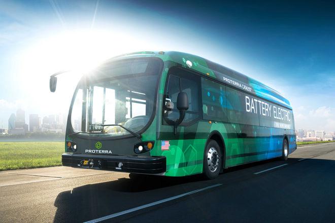 美国电动巴士创续航纪录 单次充电行驶1772公里