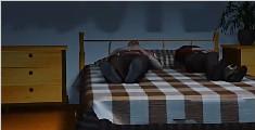 儒雅男老师睡后竟打老婆