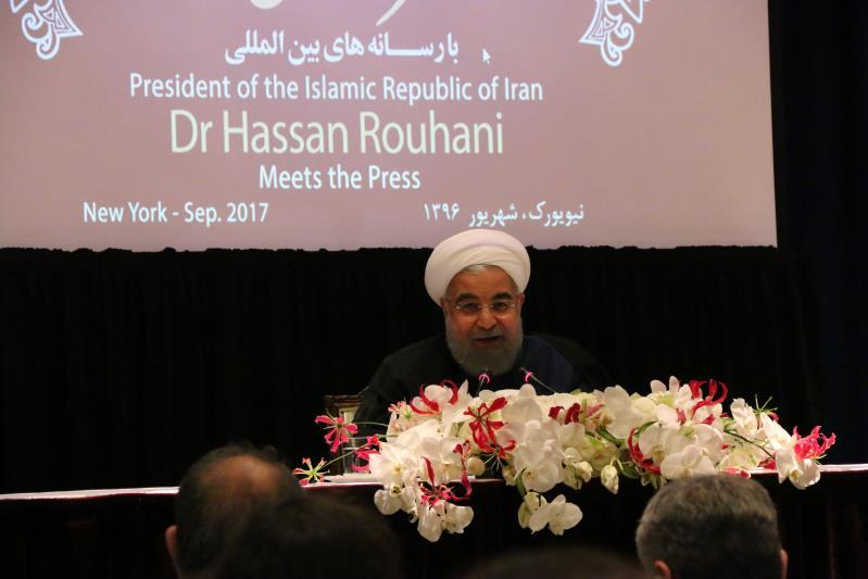 """伊朗总统鲁哈尼高度赞赏""""一带一路""""倡议"""