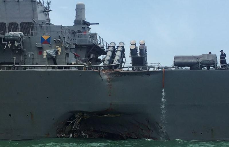 活太多!钱不稳!无视安全!美海军检讨撞船事故原因