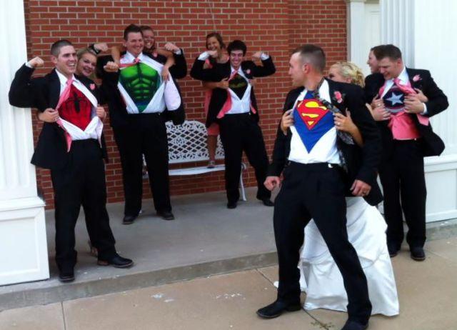 婚礼中的有趣瞬间图片