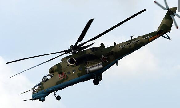 俄外交部:准备在商业模式上向阿富汗提供米-35直升机