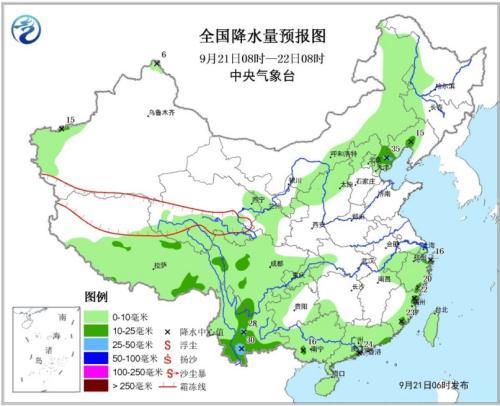 华北东北将有阵雨或雷阵雨 西南地区多阴雨天气