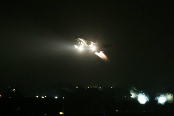 全台空军战机夜间紧急起飞 台媒:时机不寻常