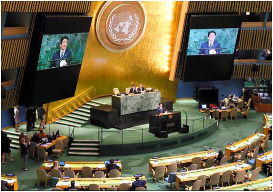 安倍氏が国連で演説、聴衆はガラガラ一覧同コラムの最新記事コラム一覧