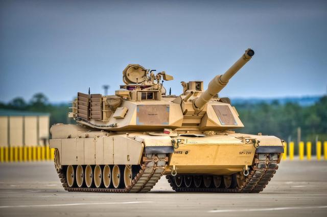 美媒:美军新版M1将交货 对抗俄军T14中国99式