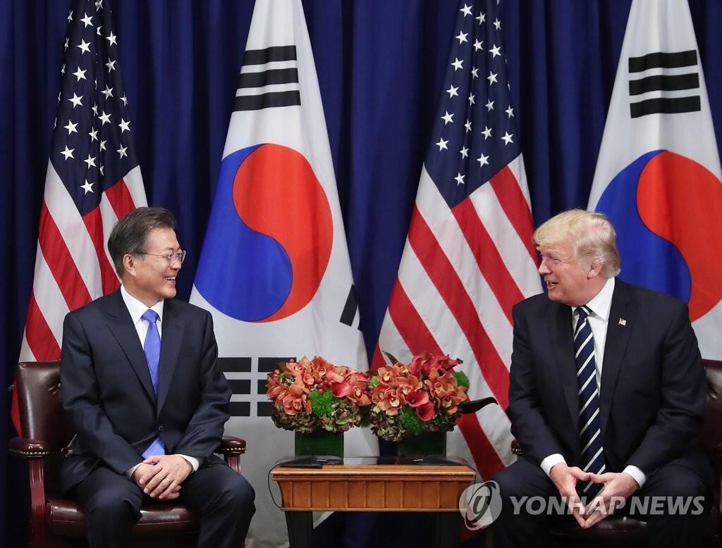 韩总统府:美支持韩研发引进尖端军事装备
