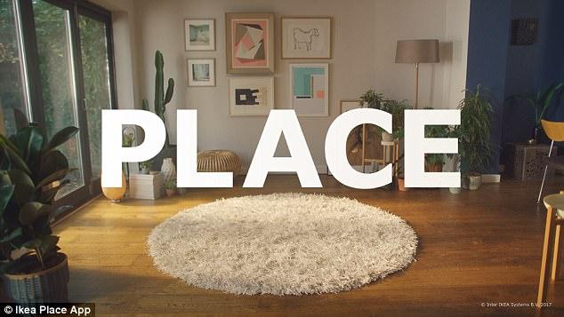 宜家携手苹果:AR应用让你在家提前选看家具