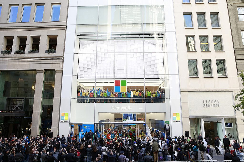 传微软将在伦敦牛津广场开设欧洲首家实体店