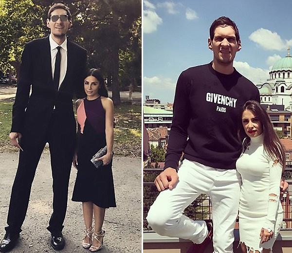最萌身高差!篮球运动员和妻子跳舞拥吻秀恩爱