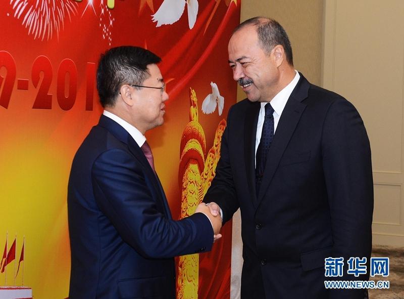 中国驻乌兹别克斯坦使馆举行国庆68周年招待会