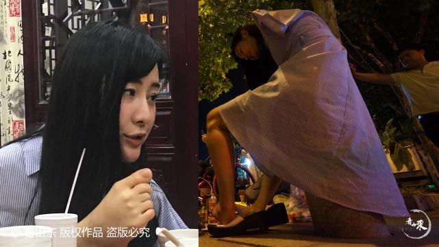"""无臂美女用脚直播成网红 获赞""""励志妹"""""""