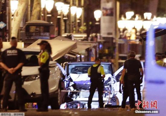 西班牙内政部:又一名巴塞罗那恐袭嫌犯被捕