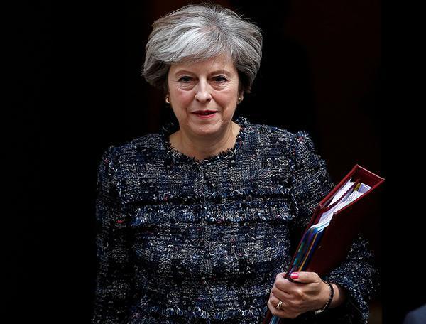 英国首相发表演讲 英国定于2019年3月退出欧盟