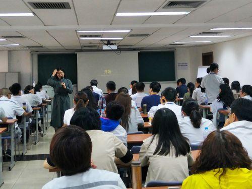 时代光华课件定制培训走进北京热力集团