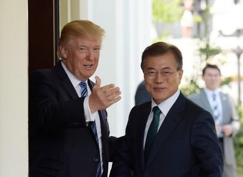 韩媒:韩美首脑会谈提及引进核潜艇 下月韩美安保会议或落实
