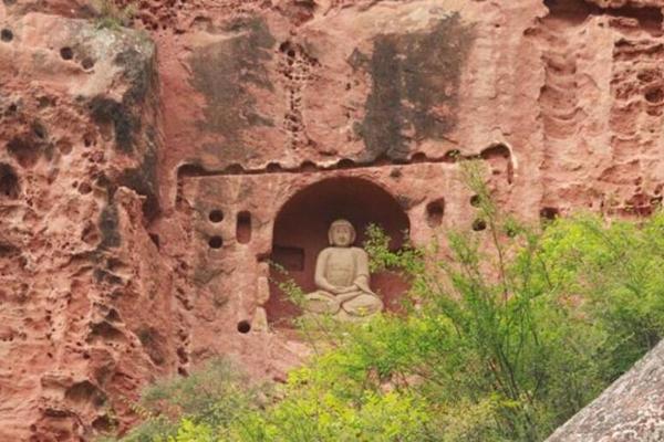 甘肃现千年摩崖石窟 初步认定北魏时期开凿