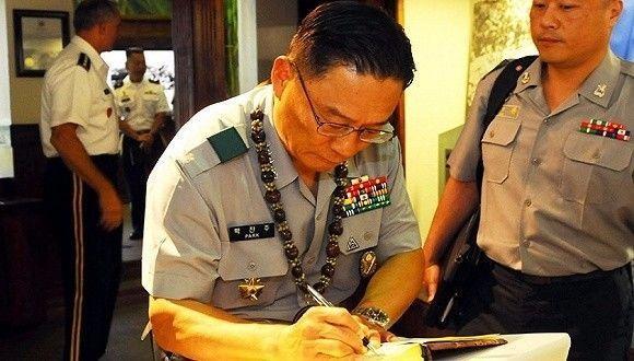 韩国四星上将涉贿被捕!曾因使唤勤务兵给将军夫人剪脚趾甲一夜成名
