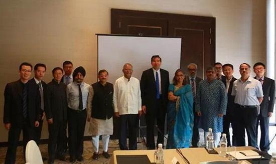 """中国驻印度大使出席""""后洞朗:中印关系发展走向""""座谈会"""