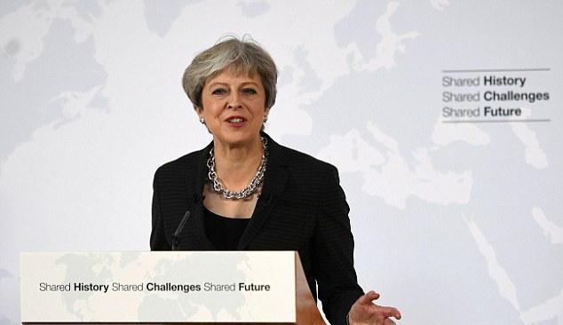 英国首相发表立场讲话:将于2019年3月退出欧盟