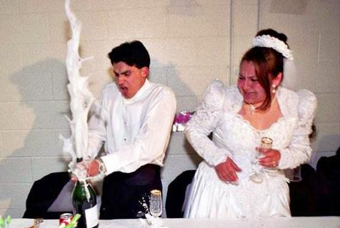 婚礼中的有趣瞬间