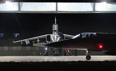 中巴空军进行夜间联合对抗训练