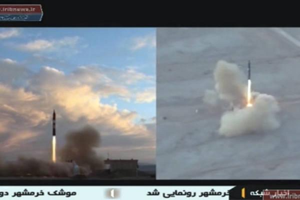 伊朗成功试射新型弹道导弹 射程2000公里