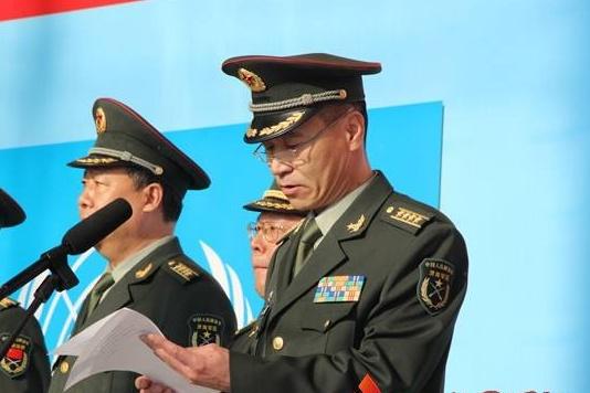 郑家概履新武警部队参谋长 接替秦天