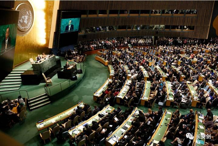 """当一些国家在联合国大会嘴炮满天飞时,中国的""""共商共建共享""""写进联合国最重要文件!"""