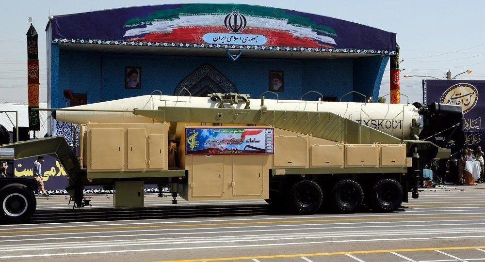 伊朗射新型导弹反击特朗普 射程可达2000公里