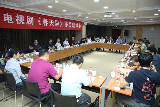 新人新戏新影响 《春天里》研讨会在京召开