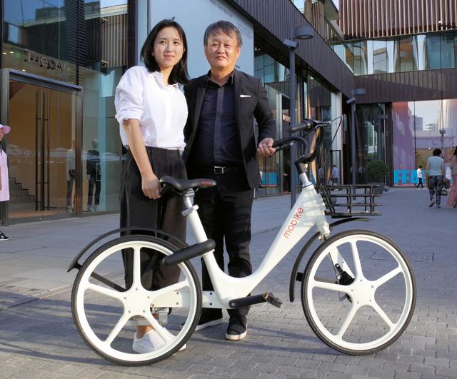 摩拜单车发布白色新车型 日本设计师执笔