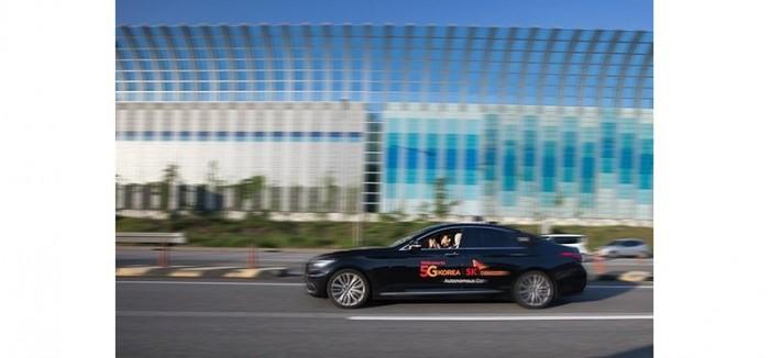 韩国SK电信在高速路上成功测试无人驾驶汽车