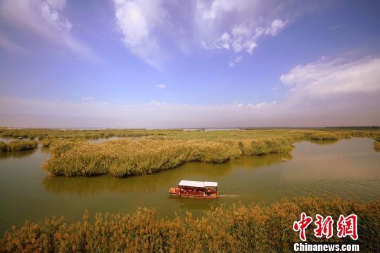 """宁夏沙湖创建""""无人机友好型景区"""" 将申请长期飞行空域"""